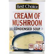 Best Choice Condensed Soup, Cream of Mushroom