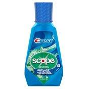 Crest Scope Outlast Mouthwash, Long Lasting Peppermint