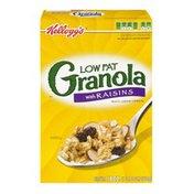 Kellogg's Kellogg's Low Fat Granola with Raisins Multi-Grain Cereal