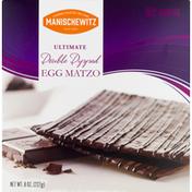 Manischewitz Egg Matzo, Double Dipped, Ultimate