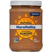 Maranatha No Stir Crunchy Natural California Almond Butter