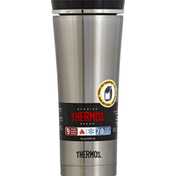 Thermos Tumbler, Travel, Stainless Steel, 16 Ounce