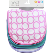 Neat Solutions Baby Bibs, 3+ Months