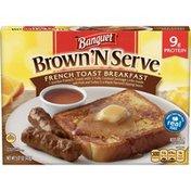 Banquet Brown N Serve French Toast Breakfast
