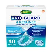 Polident ProGuard & Retainer Tablets, ProGuard & Retainer Tablets