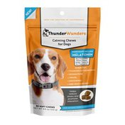 Thunder Wunders Anxiety Supplement With Thiamine Melatonin Dog Calming Chews