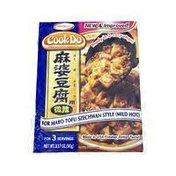 Cook Do Ajinomoto Mild Hot Szechwan Style Mabo Tofu