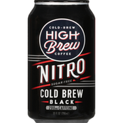 High Brew Coffee, Sugar Free, Black, Nitro, Cold-Brew