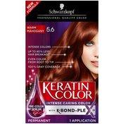 Schwarzkopf Permanent Hair Color Cream, 5.6 Warm Mahogany