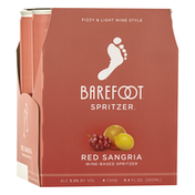 Barefoot Spritzer, Wine-Based, Red Sangria, Frizzy & Light Wine Style