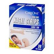 CareOne Nasal Strips Large Tan - 36 CT