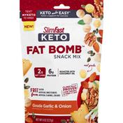 SlimFast Snack Mix, Keto, Gouda Garlic & Onion