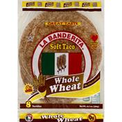 La Banderita Tortillas, Soft Taco, Whole Wheat