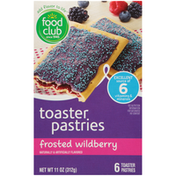 Food Club Frosted Wildberry Toaster Pastries