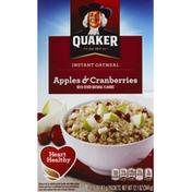 Quaker Apple & Cranberries Instant Oatmeal