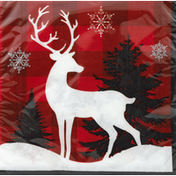 Party Creations Napkins, Winter Lodge, 2 ply