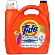 Tide Advanced Power Plus Bleach Alternative Liquid Laundry Detergent, HE Turbo Clean 170 oz 81 loads Laundry