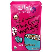 Ella's Kitchen Vegetables, Thai Curry, with Rice, 3 (from 10 Months)