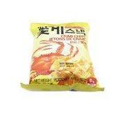 Paldo Fun & Yum Crab Snack Crackers Chips