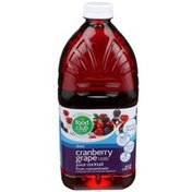 Food Club Diet Cranberry Grape Flavored Juice Cocktail From Concentrate