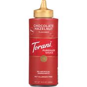Torani Sauce, Puremade, Chocolate Hazelnut Flavored