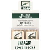 Tea Tree Therapy Toothpicks, Tea Tree