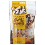 Sergeant's Treats, for Dogs, Chicken Rawhide Drummies