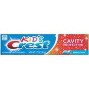 Crest Kid's Cavity Protection for Kids (children and toddlers 2+), Sparkle Fun Flavor Crest Kid's Cavity Protection Toothpaste for Kids (children and toddlers 2+),