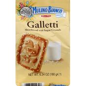 Mulino Bianco Shortbread, Galleti