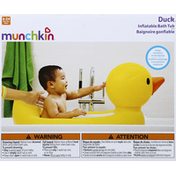 Munchkin Bath Tub, Inflatable, Duck