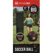 Wicked Big Sports Soccer Ball, 17 Inch Diameter