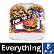 Ball Park Everything Hamburger Buns