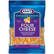 Kraft Four Cheese Shredded Cheese