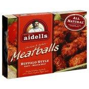Aidells Meatballs, Chicken & Turkey, Buffalo Style
