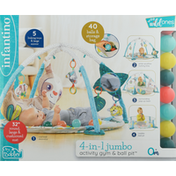 Infantino Activity Gym & Ball Pit, 4-in-1 Jumbo