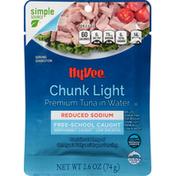 Hy-Vee Tuna in Water, Premium, Chunk Light