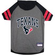 Large Houston Texans Hoodie Tee Shirt