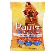 Paws Happy Life Dental Sticks Dog Treats