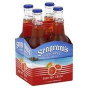 Seagram's Malt Beverage, Premium, Ruby Red Crush