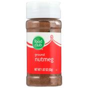 Food Club Ground Nutmeg