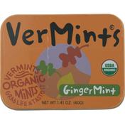 VerMints Mints, Organic, Gingermint