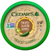 Cedar's Foods Pineapple Jalapeño Hommus