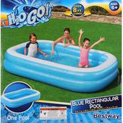 H2o Go! Pool, Blue Rectangular