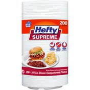 Hefty 10¼ in. Dinner Compartment Plates