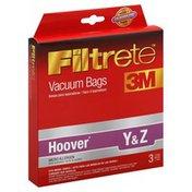 Filtrete Vacuum Bags, Micro Allergen, Hoover Y & Z