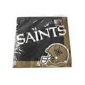Amscan New Orleans Saints NFL Pro Football Banquet Sports Party Paper Luncheon Napkins