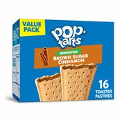Kellogg's Pop-Tarts Toaster Pastries, Breakfast Foods, No Frosting, Frosted Brown Sugar