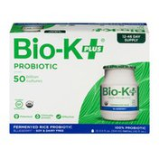 Bio-K Plus Bio-K+ Fermented Rice Probiotic Blueberry - 12 CT