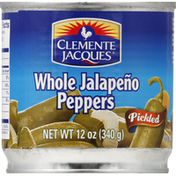 Clemente Jacques Jalapeno Peppers, Whole, Pickled