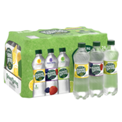 Poland spring Sparkling Water, Lemon, Triple Berry, and Lime